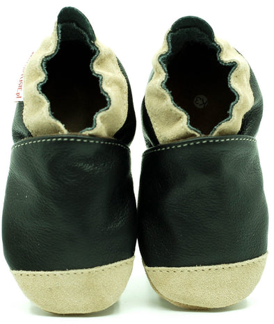 Babbucce Soft Sole Noses Black | FIORINO | RocketBaby.it