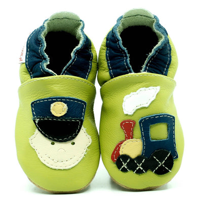 Babbucce Soft Sole Railwayman | FIORINO | RocketBaby.it