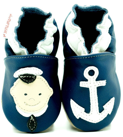 Babbucce Soft Sole Sailor | FIORINO | RocketBaby.it