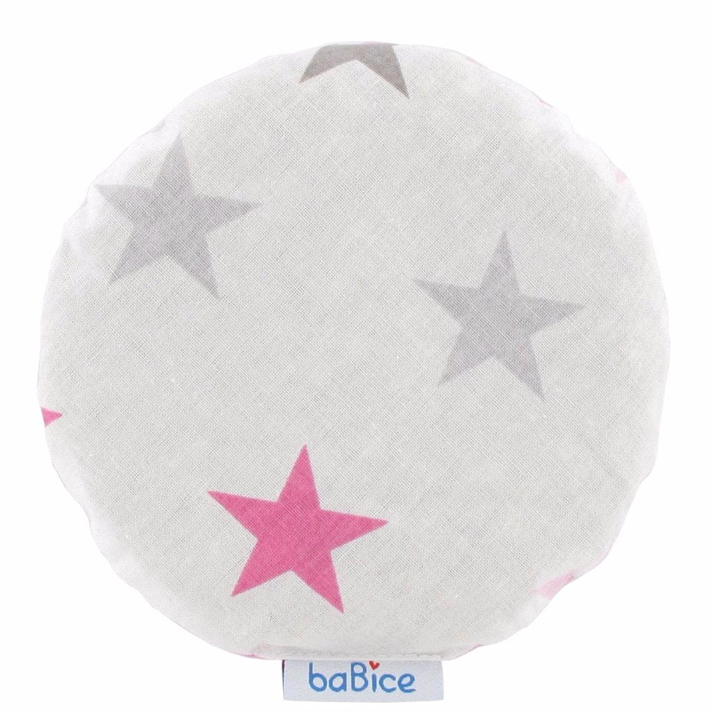 Cuscino Anticoliche Double Face Stelle Rosa | BABICE | RocketBaby.it