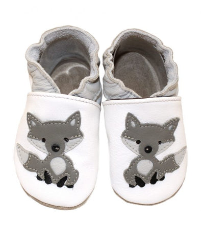 Babbucce White Wolf | BABICE | RocketBaby.it