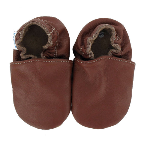 Babbucce Brown Shoes | BABICE | RocketBaby.it
