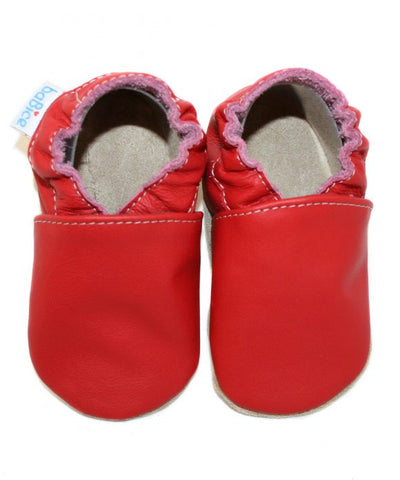 Babbucce Red | BABICE | RocketBaby.it