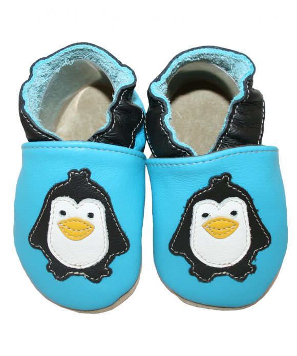 outlet store f84bc c71b5 Babie-Slippers Penguin Blue – RocketBaby