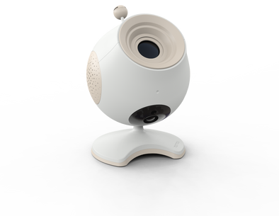 Baby Monitor Webcam  Pio con Proiettore incorporato Programmabile con Cellulare |  | RocketBaby.it