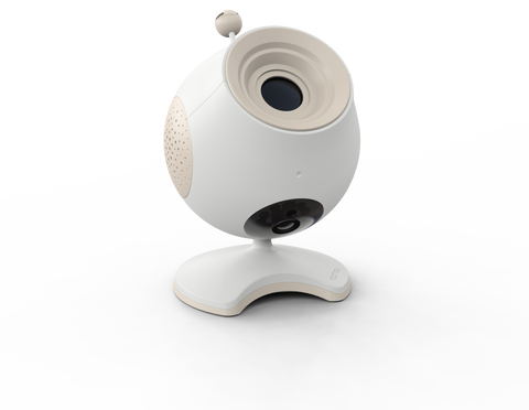 Baby Monitor Webcam  Pio con Proiettore incorporato Programmabile con Cellulare