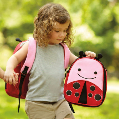 Lunch Bag Zainetto Termico Coccinella 3+ anni | SKIP HOP | RocketBaby.it