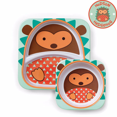 Set Piatto e Ciotola Riccio | SKIP HOP | RocketBaby.it