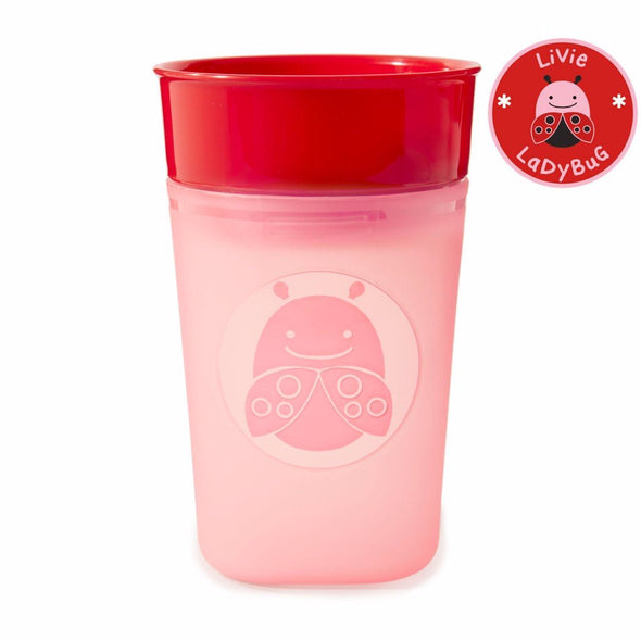 Bicchiere e Sippy Cup 2 in 1 Coccinella |  | RocketBaby.it