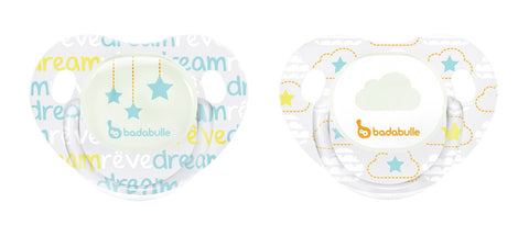2 Ciucci Fisiologici Fosforescenti Cloud Dream | BADABULLE | RocketBaby.it