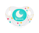 2 Ciucci Fisiologici Fosforescenti Moon Dream | BADABULLE | RocketBaby.it