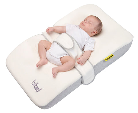 Cuscino in Memory Foam Bibed Smokey | BABYMOOV | RocketBaby.it