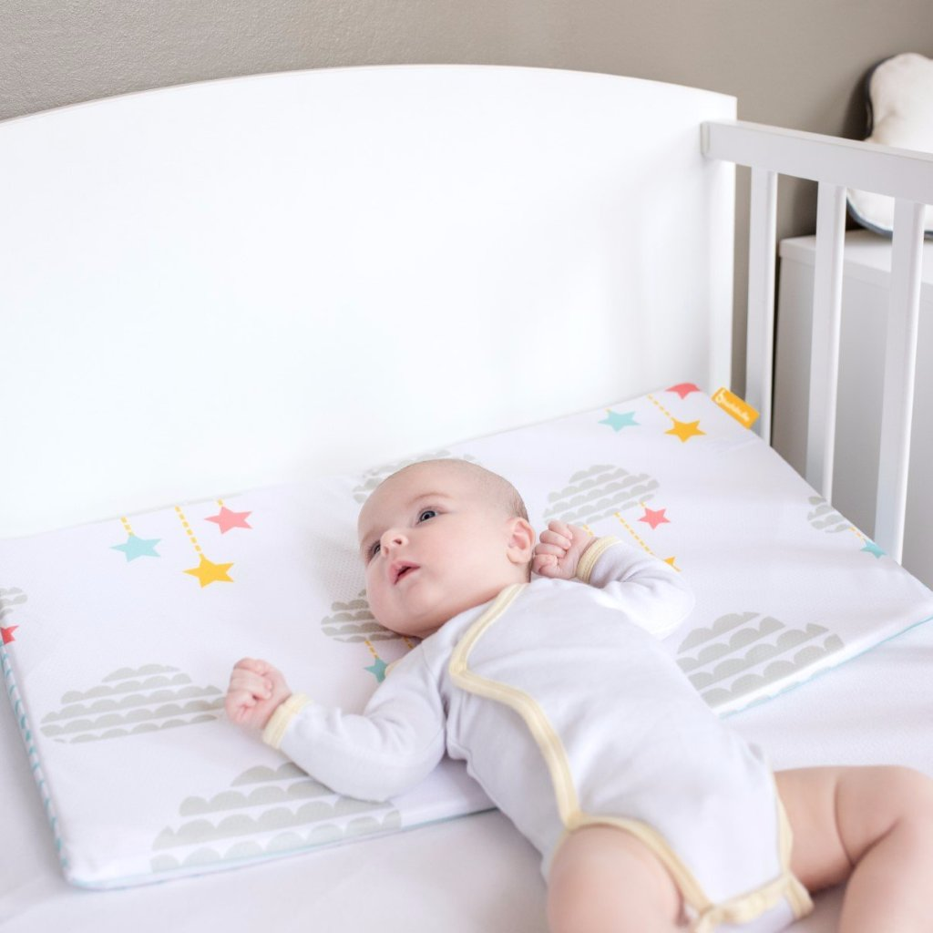 Cuscino Inclinato 2 in 1 | BADABULLE | RocketBaby.it