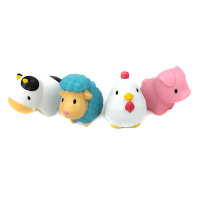 Set 4 Giochi da Bagno Squirters Barnyard Friends | MUNCHKIN | RocketBaby.it