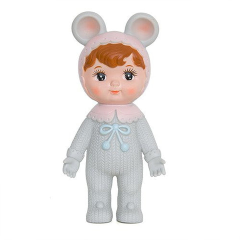 Bambola Retro Grey Woodland Doll Orecchiette | LAPIN & ME | RocketBaby.it