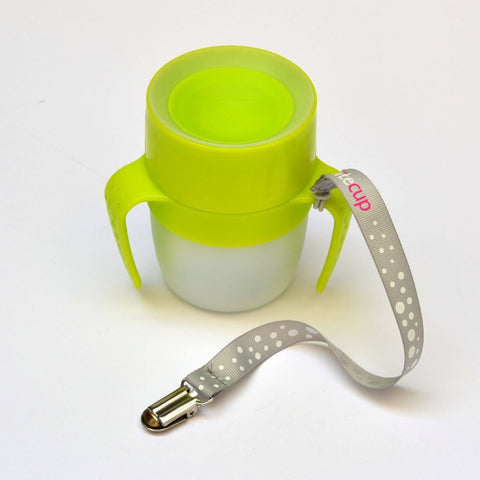 Magico Bicchiere Luminoso 2 in 1 Baby Verde Acido | LITECUP | RocketBaby.it
