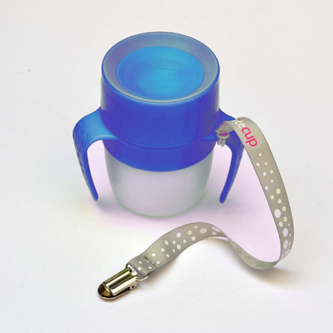 Magico Bicchiere Luminoso 2 in 1 Baby Blu | LITECUP | RocketBaby.it