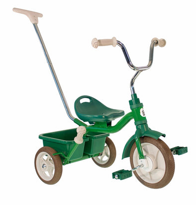 Triciclo Messenger Green | BOBBIN | RocketBaby.it