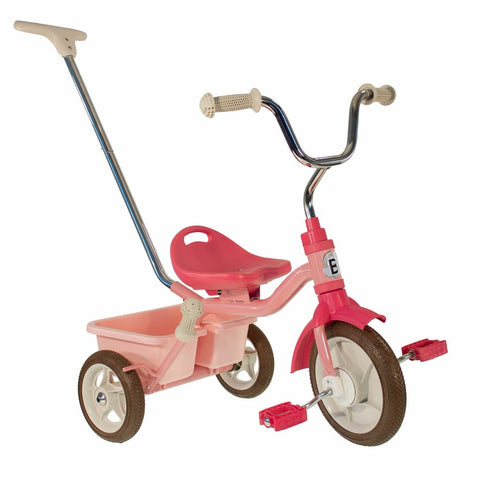 Triciclo Messenger Pink | BOBBIN | RocketBaby.it