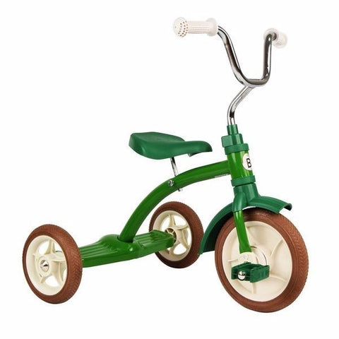 Triciclo Classic Green | BOBBIN | RocketBaby.it