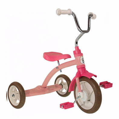 Triciclo Classic Pink | BOBBIN | RocketBaby.it