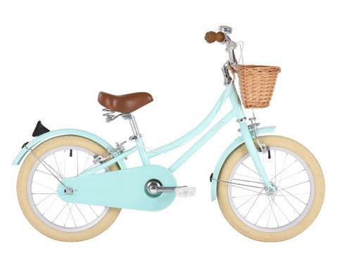 Bicicletta Gingersnap Green 16 | BOBBIN | RocketBaby.it