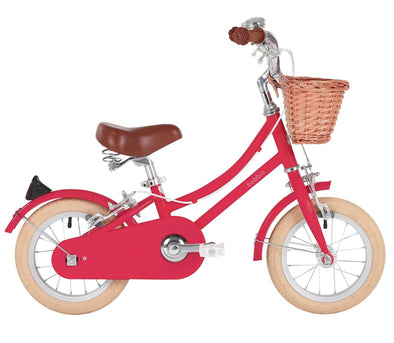Bicicletta Gingersnap Cerise Pink 12 | BOBBIN | RocketBaby.it