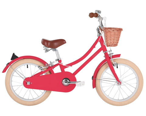 Bicicletta Gingersnap Cerise Pink 16 | BOBBIN | RocketBaby.it