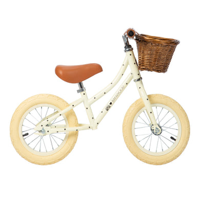 Bicicletta Balance Bike First Go Bonton Cream