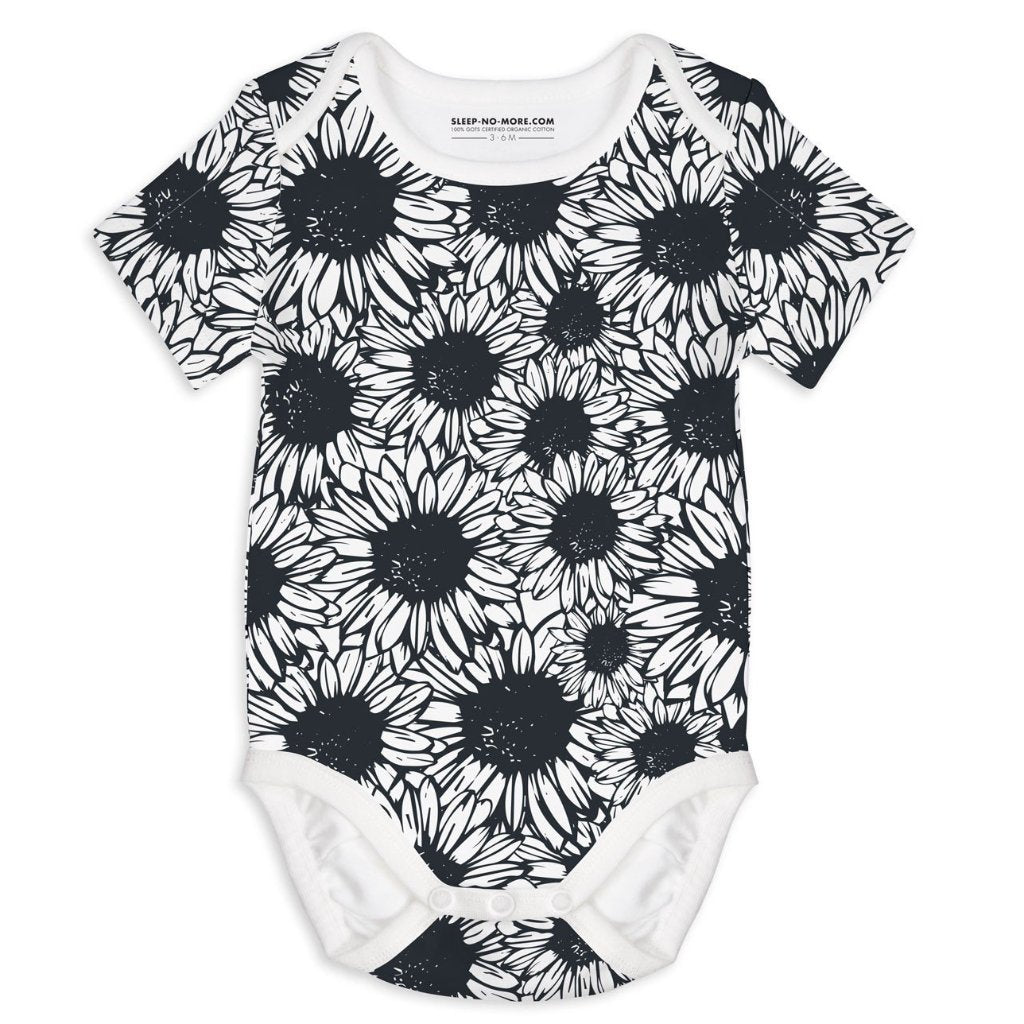 Body a Manica Corta Flower Power | SLEEP NO MORE | RocketBaby.it
