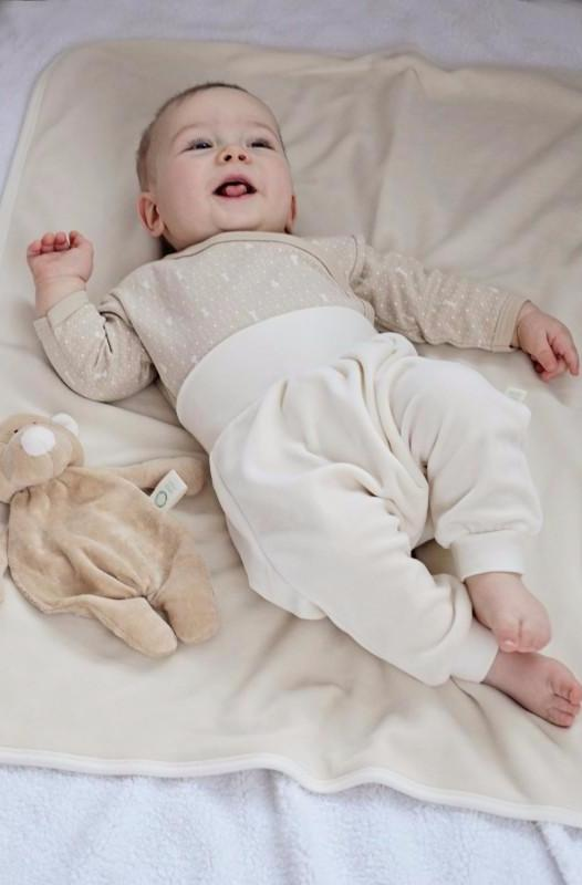 Leggings Ecru in Ciniglia | WOOLY ORGANIC | RocketBaby.it