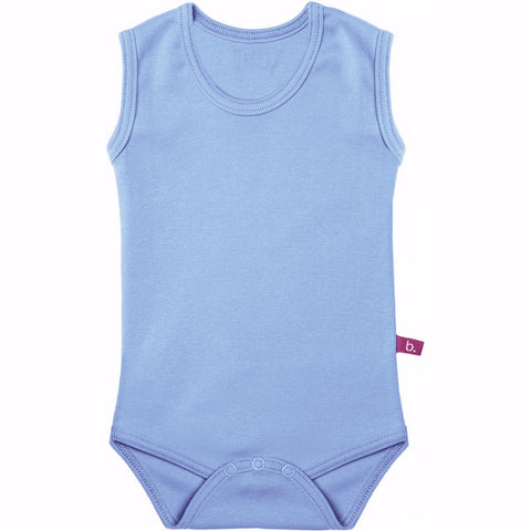 Body senza maniche denim TAGLIA 4-8 MESI | LIMOBASICS | RocketBaby.it