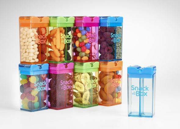 Snack Box 355 ml con 2 Scomparti Blu |  | RocketBaby.it
