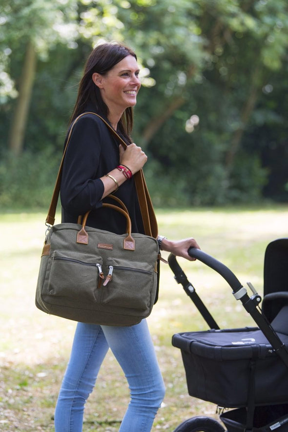 Borsa Fasciatoio con Tasche Esterne Vision of Love Green |  | RocketBaby.it