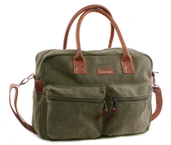 Borsa Fasciatoio con Tasche Esterne Vision of Love Green | KIDZROOM | RocketBaby.it
