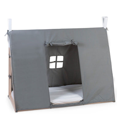 Cover per Letto Tenda Tipi 70x140 Cm Grey