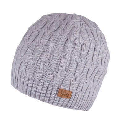 Cappello Pure Nature a Maglia Light Grey