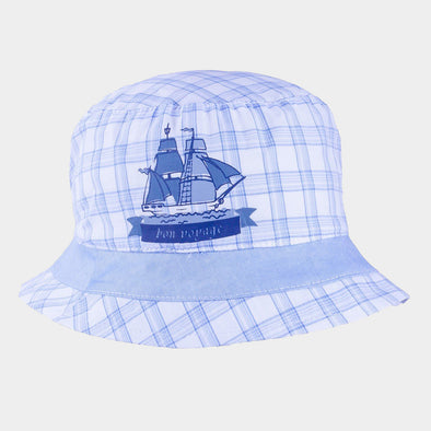 Cappellino da Sole Nave White Light Blue