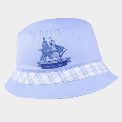 Cappellino da Sole Nave Blue White