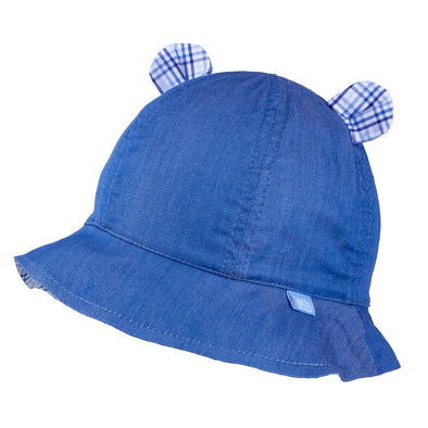 Cappellino da Sole Orecchie Blue Navy | TUTU | RocketBaby.it