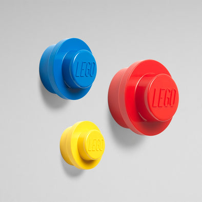 Set da 3 Appendini Lego Giallo Blu Rosso | LEGO | RocketBaby.it