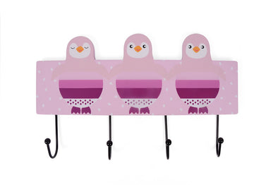 Appendiabiti Penguin Rack Pink | MAGNI TOYS | RocketBaby.it