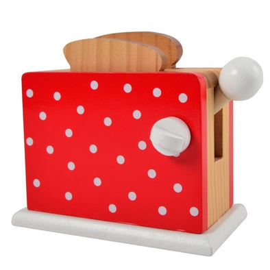 Gioco Tostapane Rosso con Pois | MAGNI TOYS | RocketBaby.it
