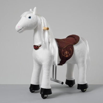 Cavallo Scooter Bianco 3-6 Anni | PONNIE | RocketBaby.it