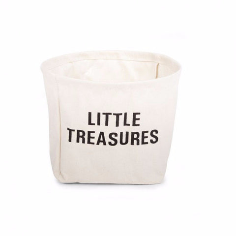 Cesto Contenitore Little Treasures - CHILDHOME - RocketBaby.it - RocketBaby