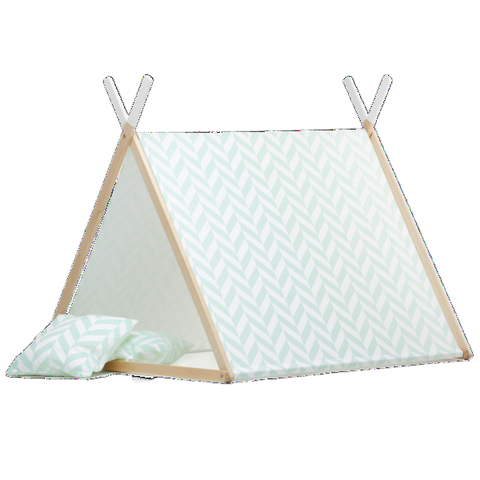 Tenda Gioco Mint Herringbone | WIGIWAMA | RocketBaby.it