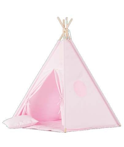 Set Tenda Teepee Plain Pink | WIGIWAMA | RocketBaby.it