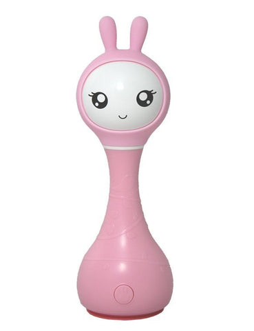 Sonaglio Hi Tech Imparo i Colori Smart Bunny Rosa | ALILO | RocketBaby.it