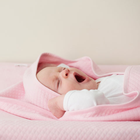 Swaddle Coperta 2 in 1 Nus Rosa Chiaro | NOPPIES | RocketBaby.it