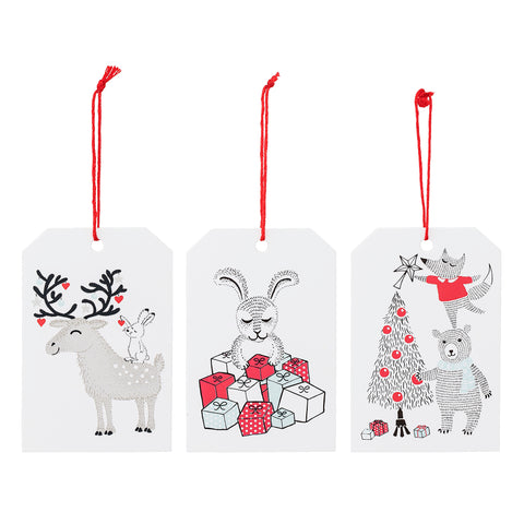 6 Biglietti Regalo di Natale | BLOOMINGVILLE | RocketBaby.it
